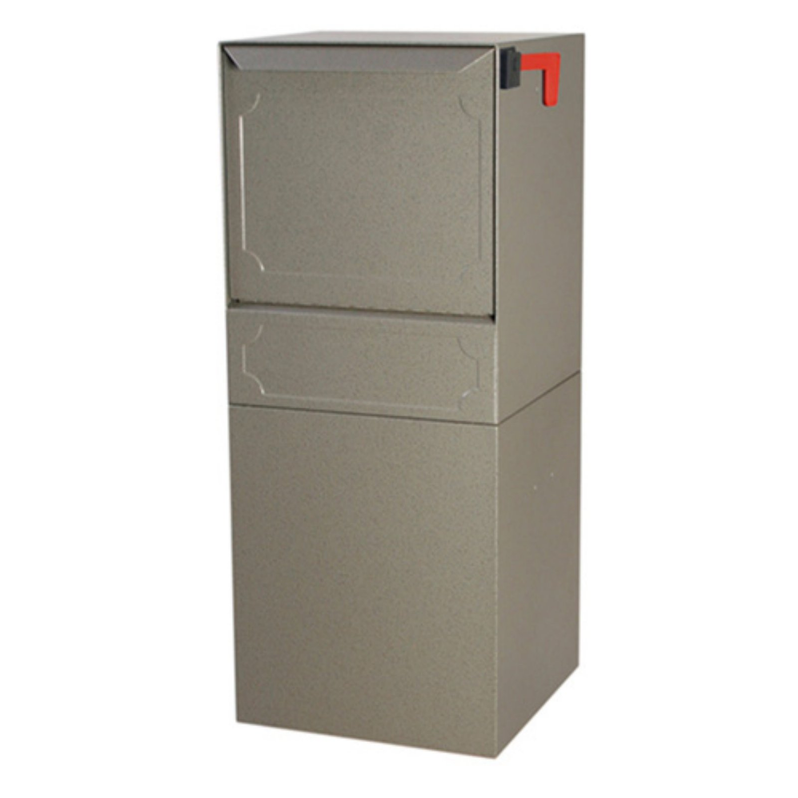 Dvault Post Mount Delivery Vault Gray In 2019 Large