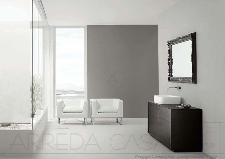 Arredo Bagno moderno specchiera classica Esc04   Prezzo ...