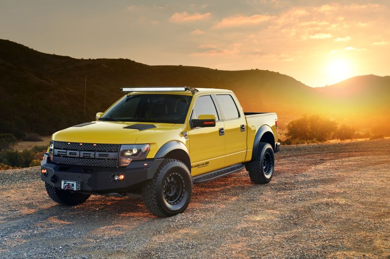 Hennessey Turns Things Up W VeclociRaptor 650 Supercharged 2014 Ford RaptorFord F150
