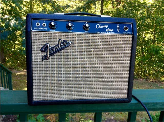 Fender Champ 5-Watt Vintage Blackface Guitar Combo Amp