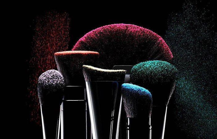 Makeup Brush Photography