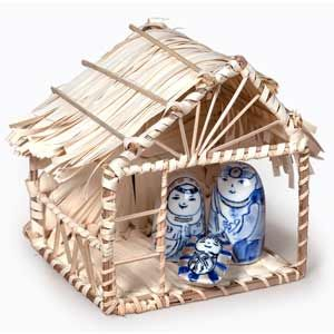 @WorldCrafts {Vietnamese Ceramic Nativity Set ~ White Harvest ~ Vietnam} Sure to become a beloved part of your Christmas décor, this ensemble is also a reminder of the new hope given to artisans in economically and spiritually deprived areas of Vietnam. #fairtrade