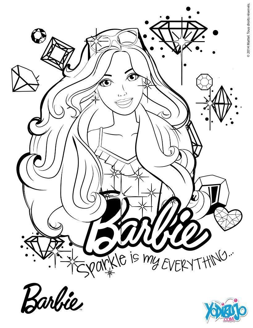 Barbie Oceana Ausmalbilder : Dibujo Para Colorear Barbie Modelo_sk2 Jpg Jpeg Image 820 1060