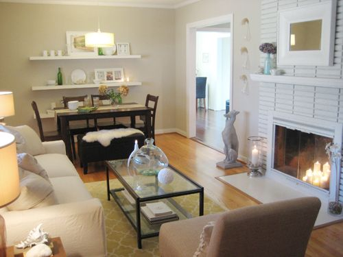 This Young House S Living Room Living Room Dining Room Combo