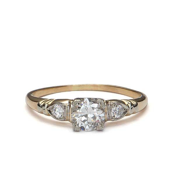 Pin On Vintage Engagement Rings Wedding Inspiration