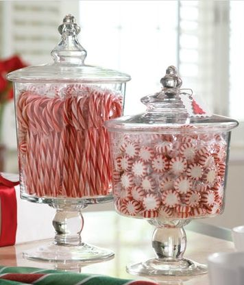 Decorated Christmas Candy Jars Flisol Home
