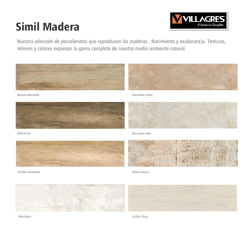 Porcelanato Simil Madera Villagress 24x100 (simil Ilva) - $ 426,99 ...