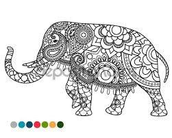 Resultado De Imagen Para Dibujos De Elefantes Hindues Para