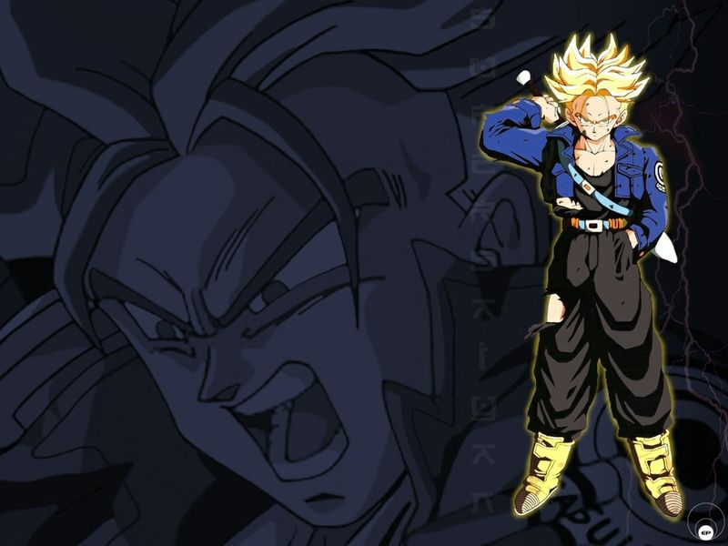 Dragon Ball Z Trunks Wallpaper Wallpapersafari Dragon