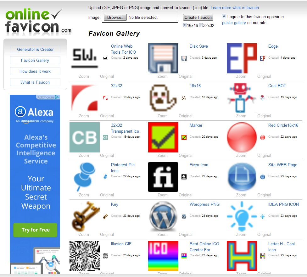 Pin By Dario Lion On Online Ico Converter Favicon Generator Online Web Online Images Learning