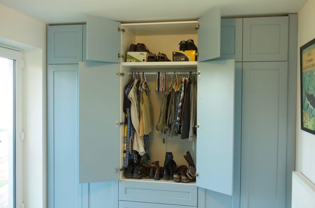 Fitted Wardrobe Blue Wall To Wall Wardrobe Projects Richard Sothcott Brighton Carpentry Wardrobe Cabinets Fitted Wardrobes Fitted Cabinets