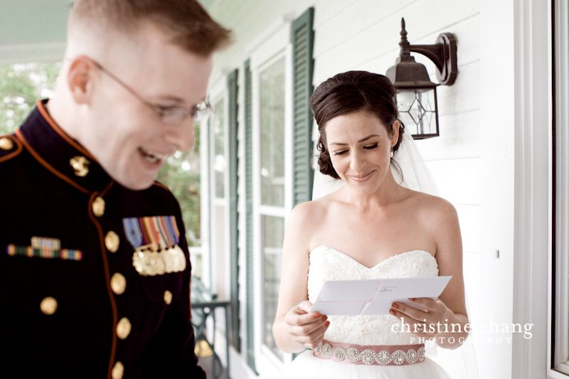 A special card and a touching moment // Christine Chang Photography