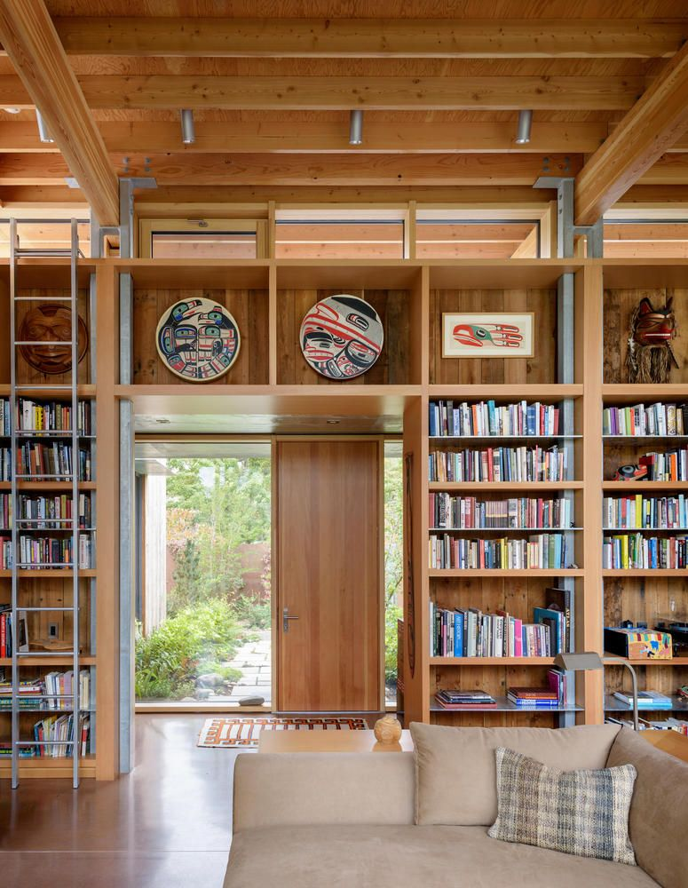 Gallery Of City Cabin Olson Kundig 5 In 2020 Home Interior Columns House