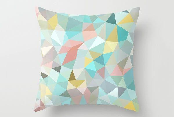 Sofakissenbezüge wohnideen sofakissen geometrische muster farbige dekoration muster