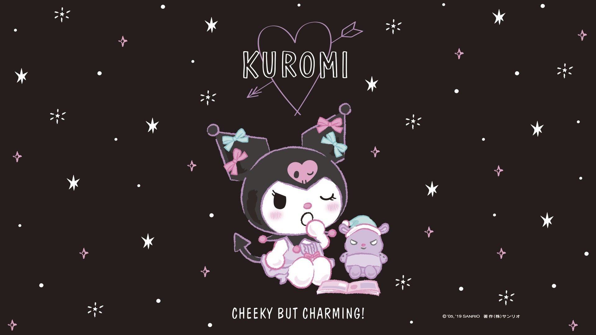 Kuromi Wallpaper Sanrio Wallpaper Hello Kitty Wallpaper Hd Hello Kitty Wallpaper