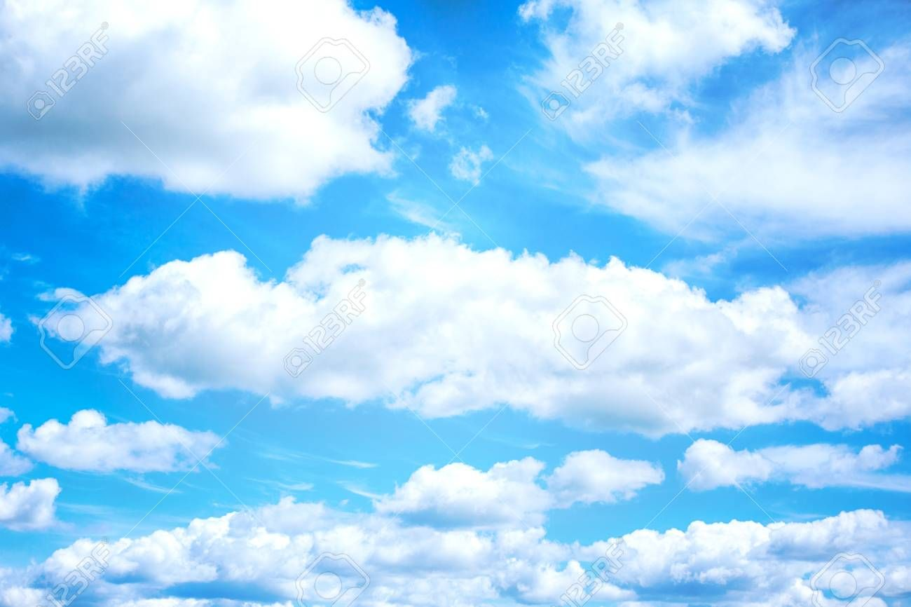 Beautiful Blue Sky And White Clouds On Background Wallpaper Stock Photo Picture And Royalty Free I Blue Sky Background Blue Sky Photography Blue Sky Wallpaper