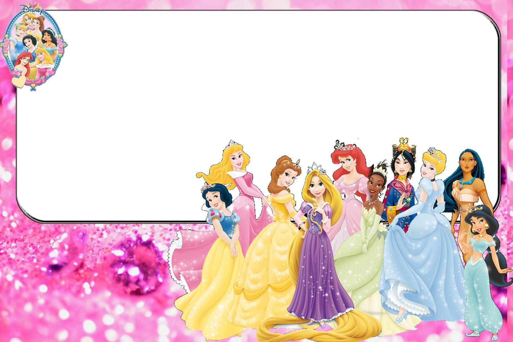 A 1convite10 Jpg 1680 1120 Princesas Disney Princesas Invitaciones Cumpleanos Frozen