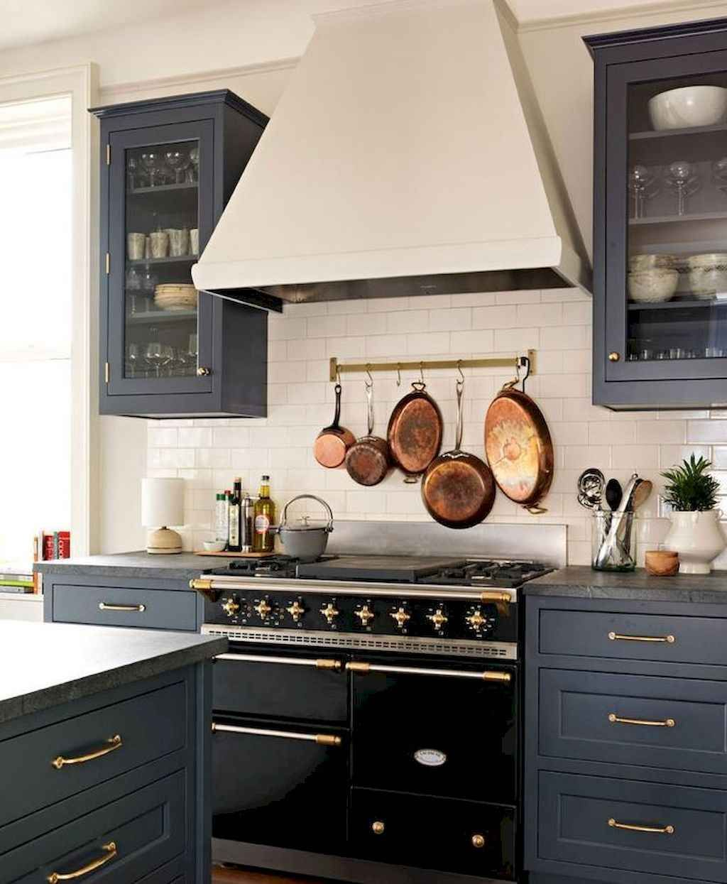 25 Absolutely Gorgeous Transitional Style Kitchen Ideas: 80 Beautiful Gray Kitchen Cabinet Design Ideas