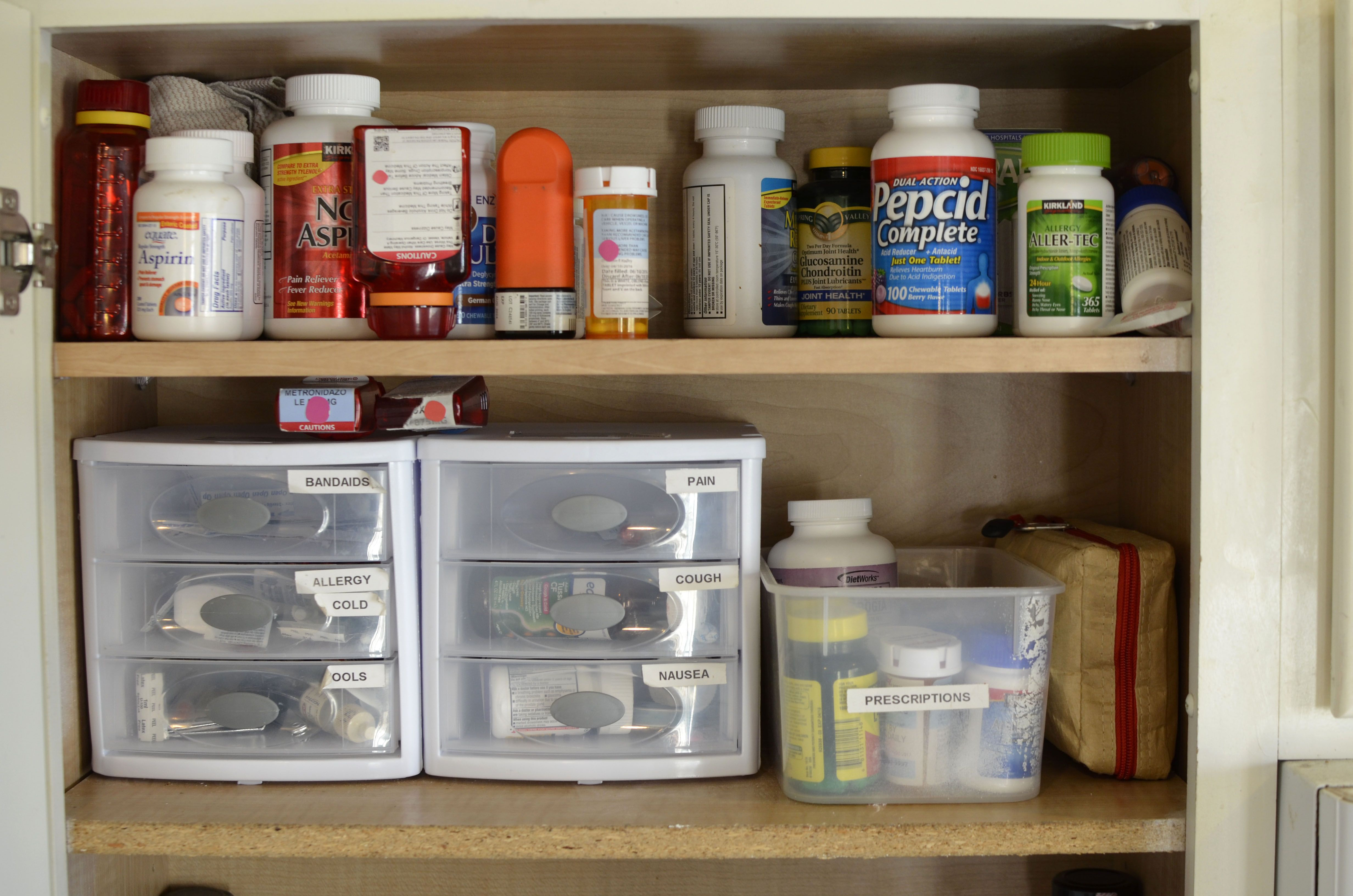 Keeping Your Medicine Cabinet Simple Safe And Organized The