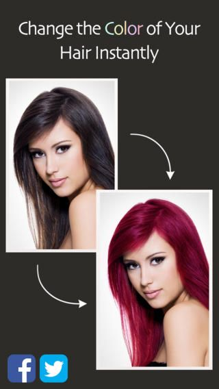 Hair Color Booth Free Change Hair Color Different Hair Colors Hair Colour App