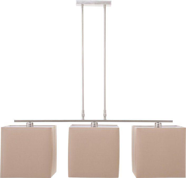 hanglamp frost is een eigentijdse hanglamp met 3 vierkante kappen
