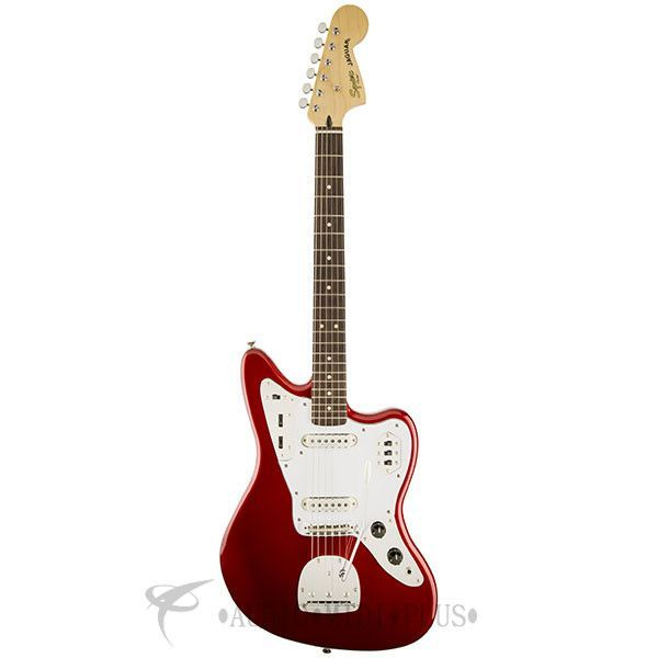 Fender Squier Vintage Modified Jaguar Rosewood Fingerboard Electric Guitar Candy Apple Red - 302000509