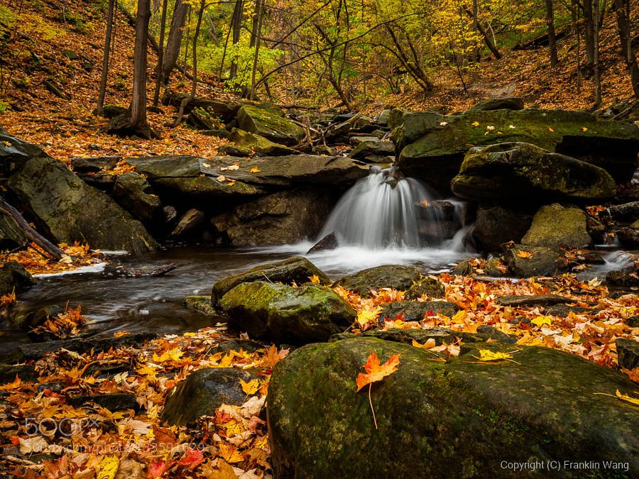 Grindstone Cascade by franklinwang #nature