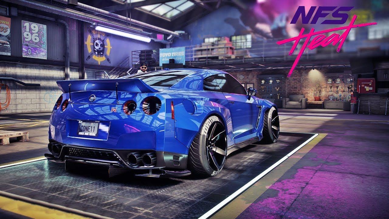 Need For Speed Heat Gameplay 900hp Nissan Gt R R35 Customization Nis Nissan Gt Nissan Gt R Gtr