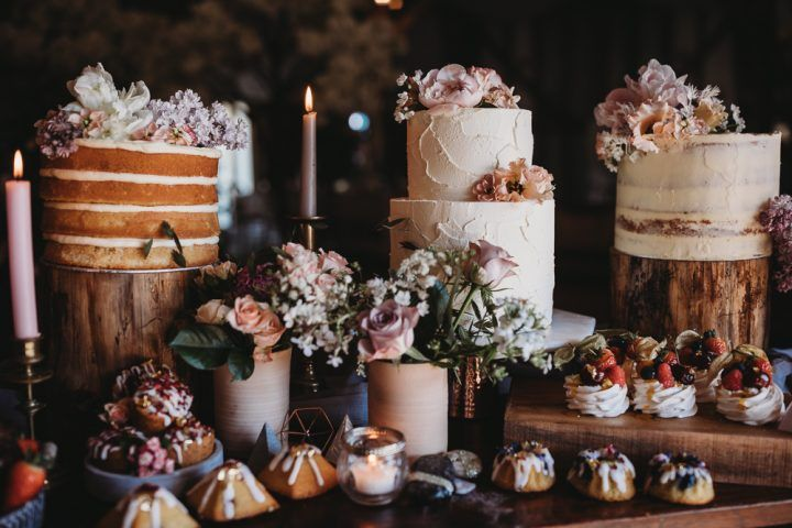 Very Pretty Barn Wedding Ideas - Pastel Spring Flo