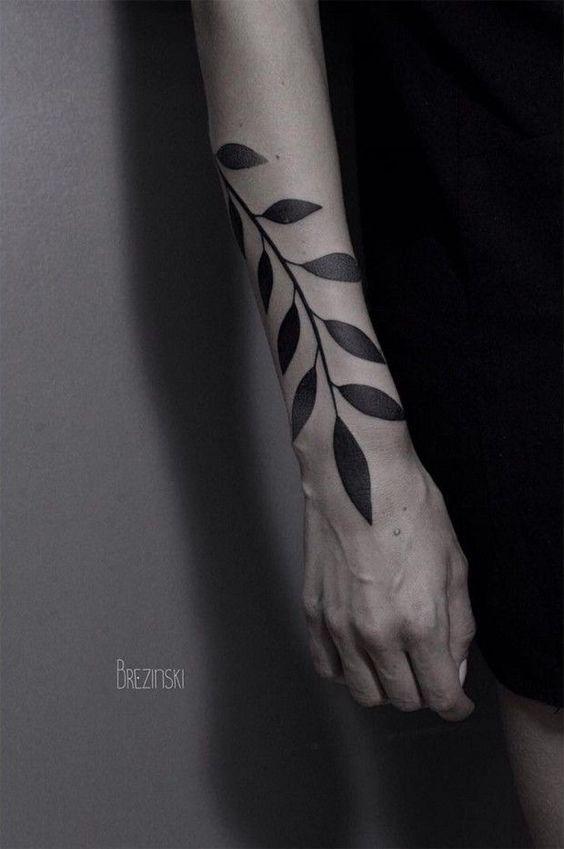 brezinski tattoo -   17 plants Tattoo arm ideas