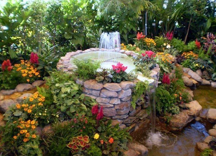 Beautiful Garden Fountains Avec Images Beaux Jardins