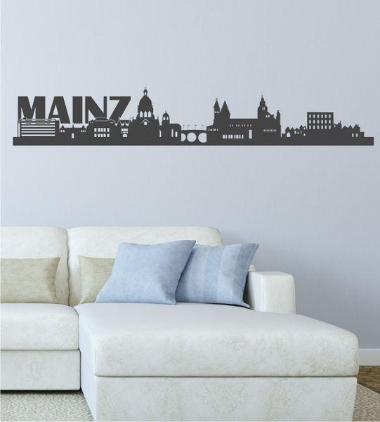 Wandtattoo Home skyline mainz 2 als wandtattoo mainz