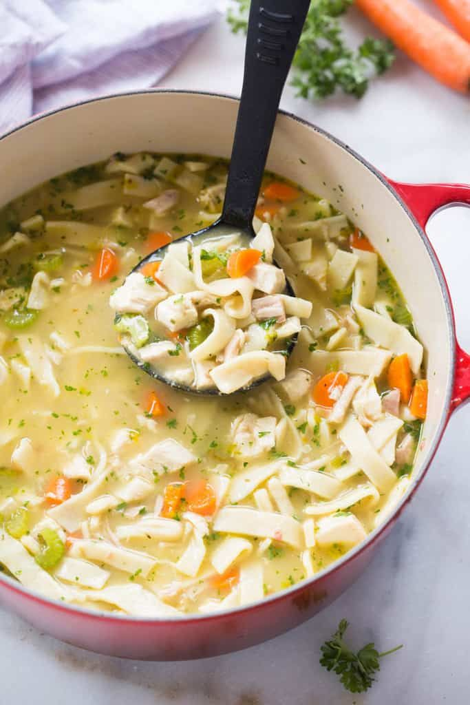 Truly Homemade Chicken Noodle Soup