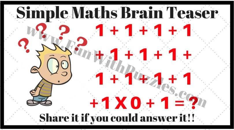 Interesting Brain Teasers To Challenge Your Mind Brain Teasers