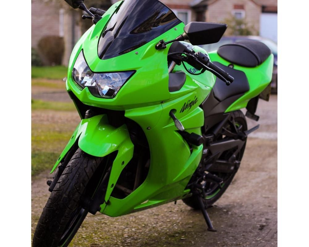 Kawasaki Ninja 250r 7900 Miles Heated Grips Full Throttle
