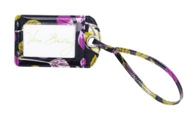 Vera Bradley- Luggage Tag in Floral Nightingale