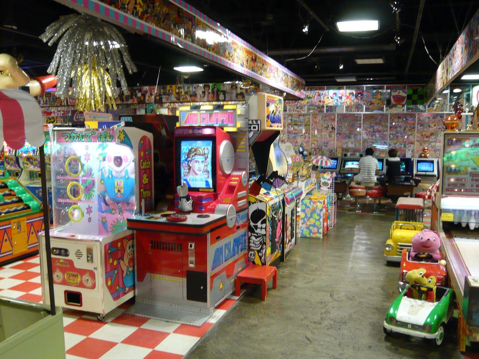 Tokyo arcade Arcade, Arcade video games, Retro gaming
