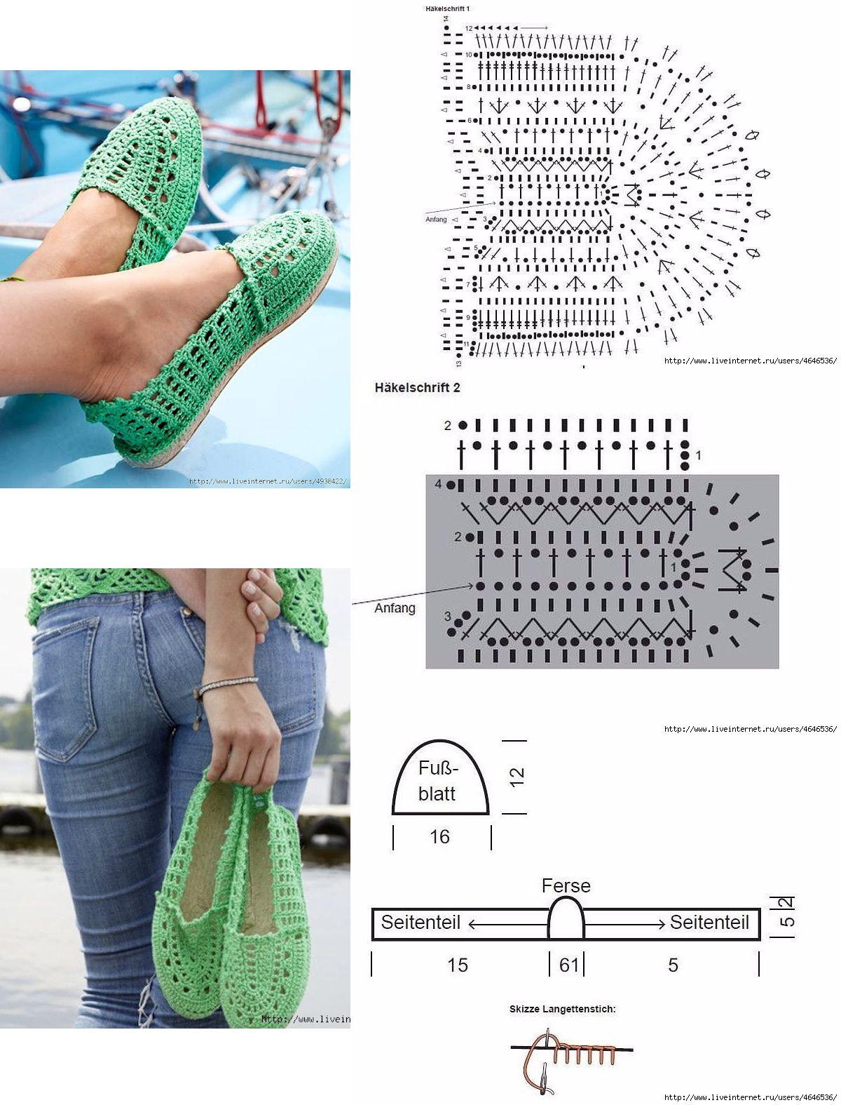 Crochet Shoes | pantunflas | Pinterest | Mocasines, Ganchillo y ...