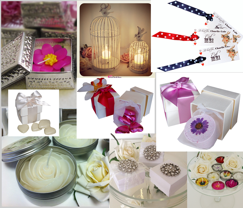 Small Wedding Ideas On A Budget: New Favour Ideas & Small Gifts For Bridesmaids Etc