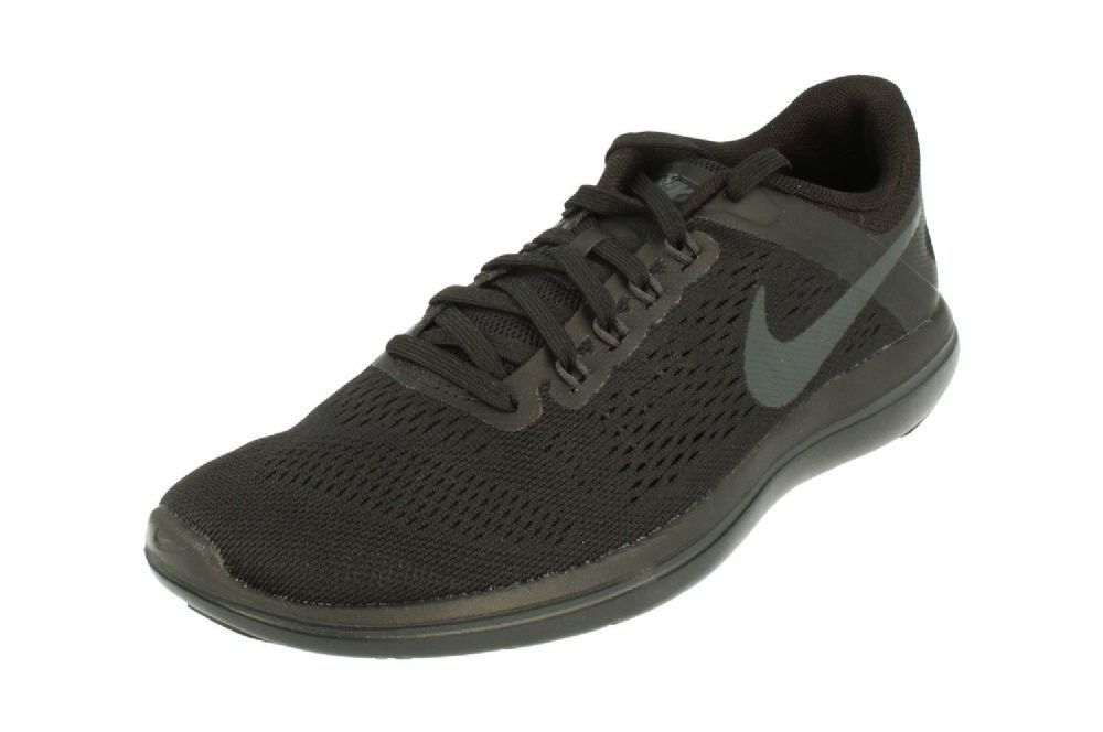 f5a8aff4a7883 Nike Womens Flex 2016 RN Running Trainers 830751 Sneakers Shoes - Colour  Black Anthracite 010
