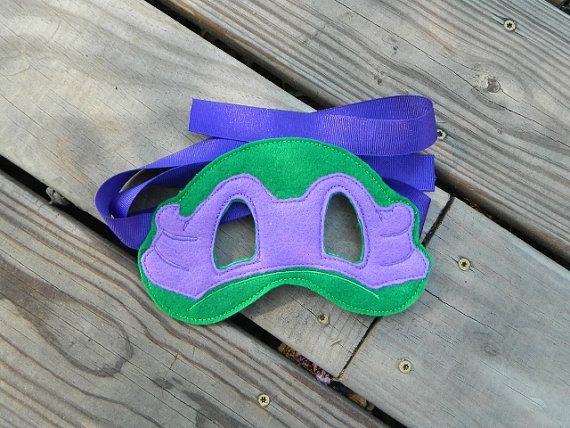 Teenage Mutant Ninja Turtle Felt Mask