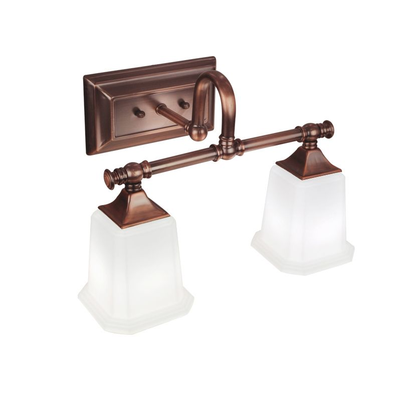 Elegant and graceful, this indoor sconce features antique copper ...
