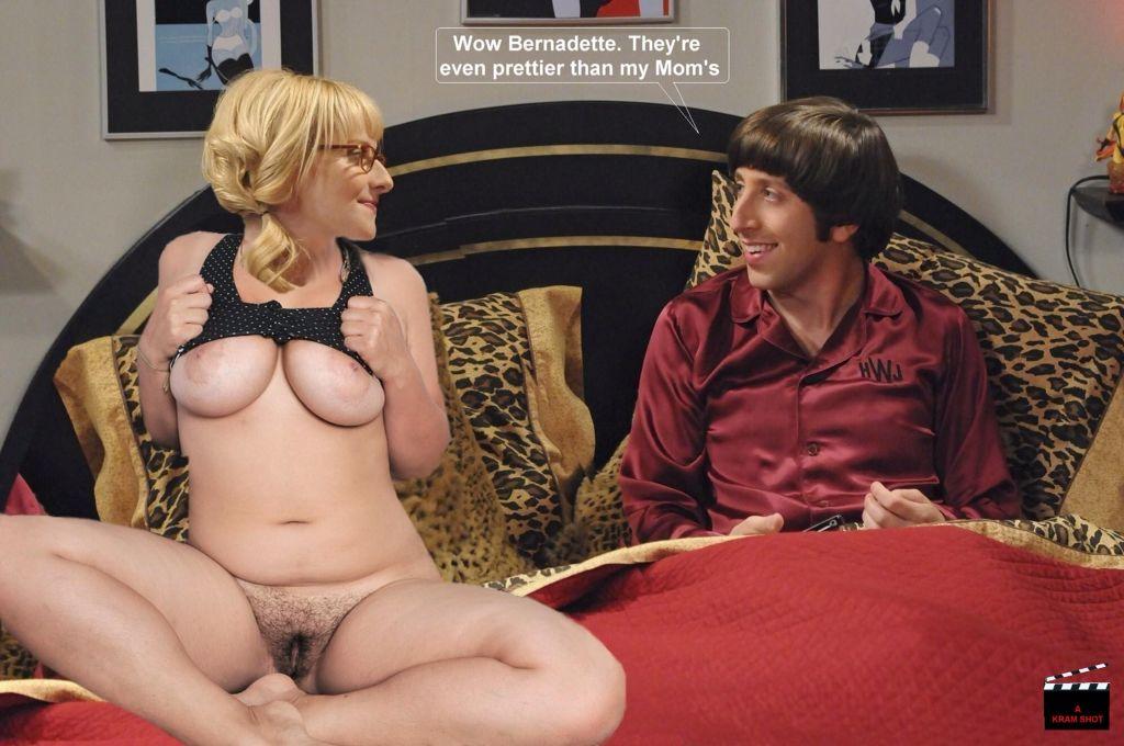 Big Bang Bernadette Melissa Rauch Nude