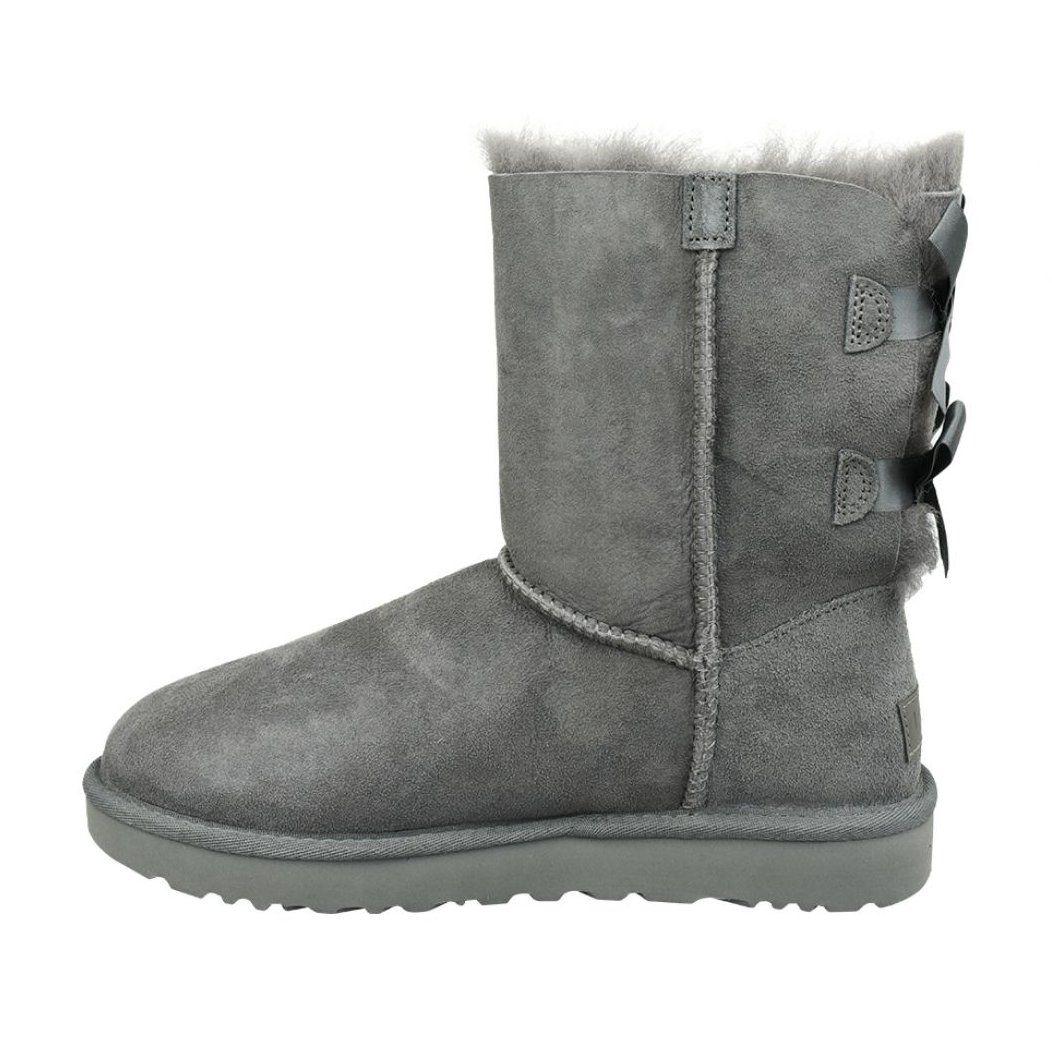Buty Ugg Bailey Bow Ii W 1016225 Grey Szare Bailey Bow Uggs Grey Shoes Uggs