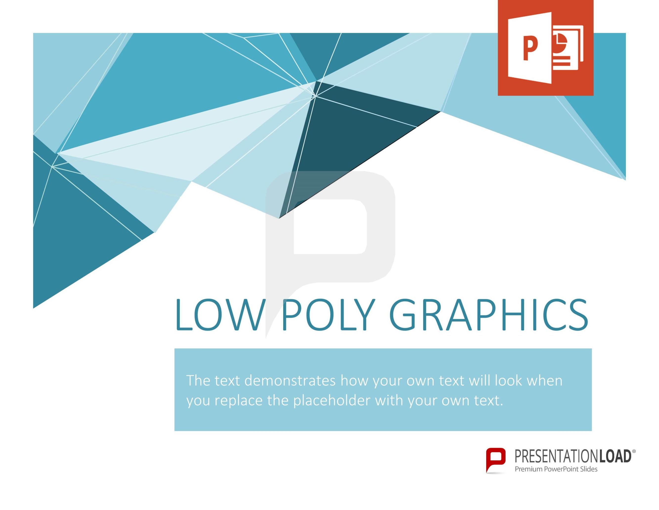 Follow new design trends and work with LowPoly Graphics