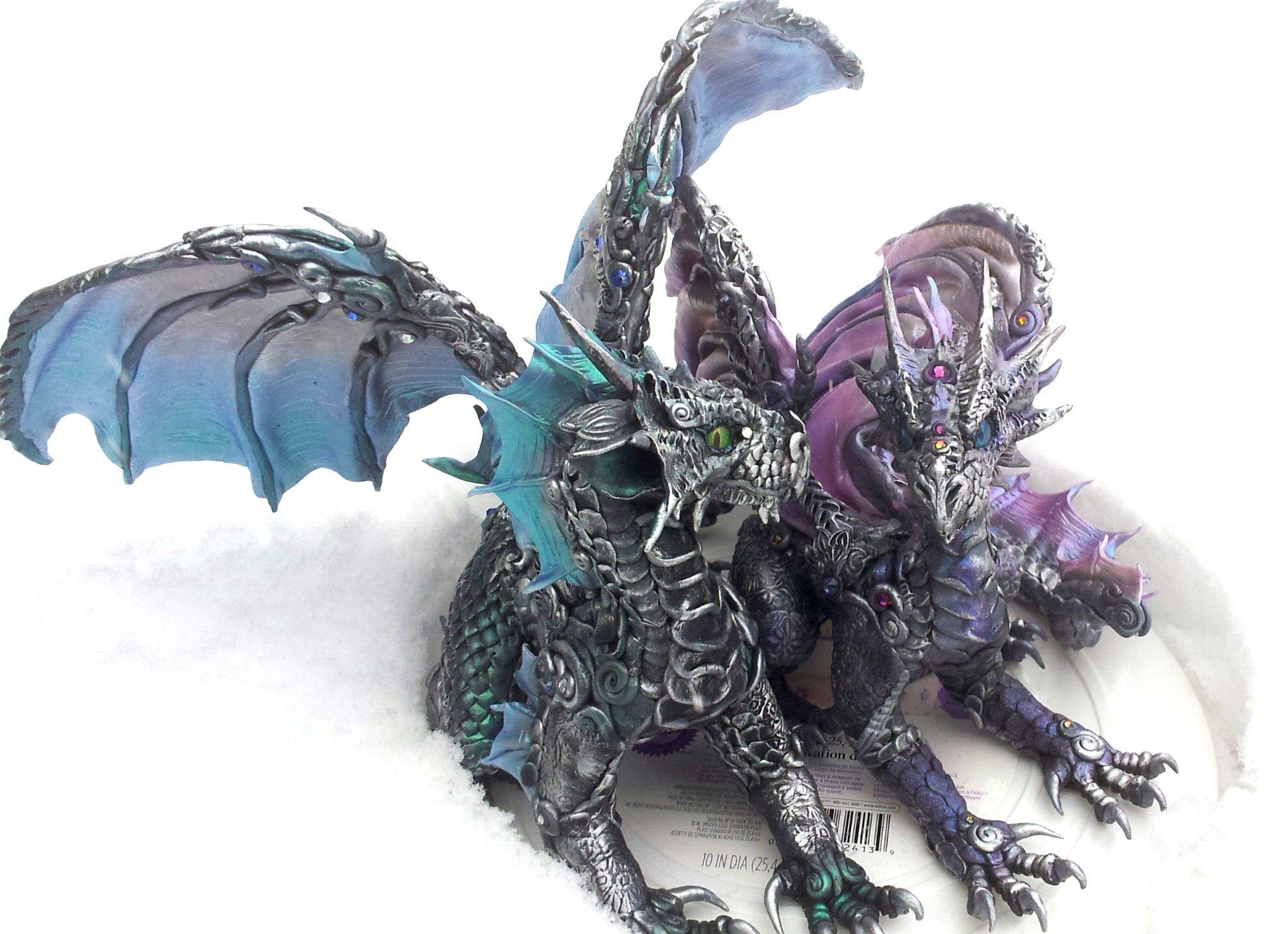 Silver Dragons Cake Topper Dragon Wedding Dragon Wedding Cake Dragon Cakes