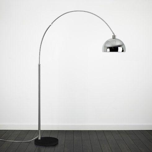 Curva 200cm arched floor lamp wayfair £103