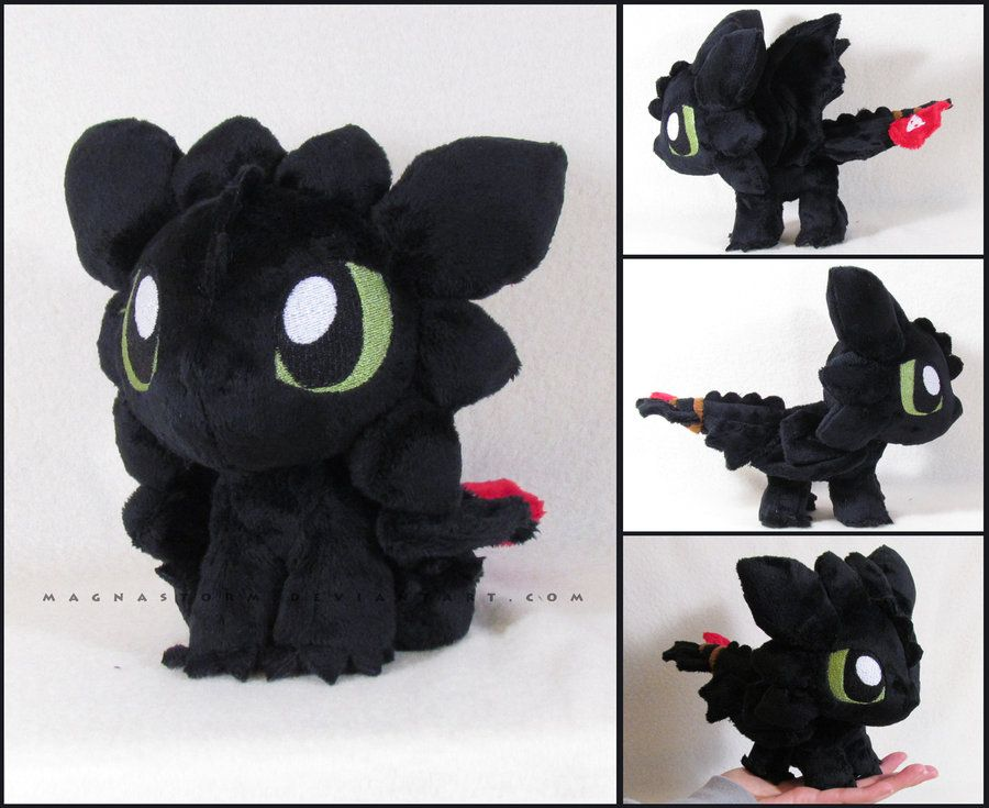 Chibi Toothless (How to Train Your Dragon) | Stuffies ...