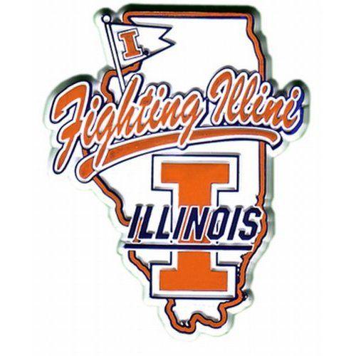 Illini Logo Illinois Football Illinois Fighting Illini Illini Basketball