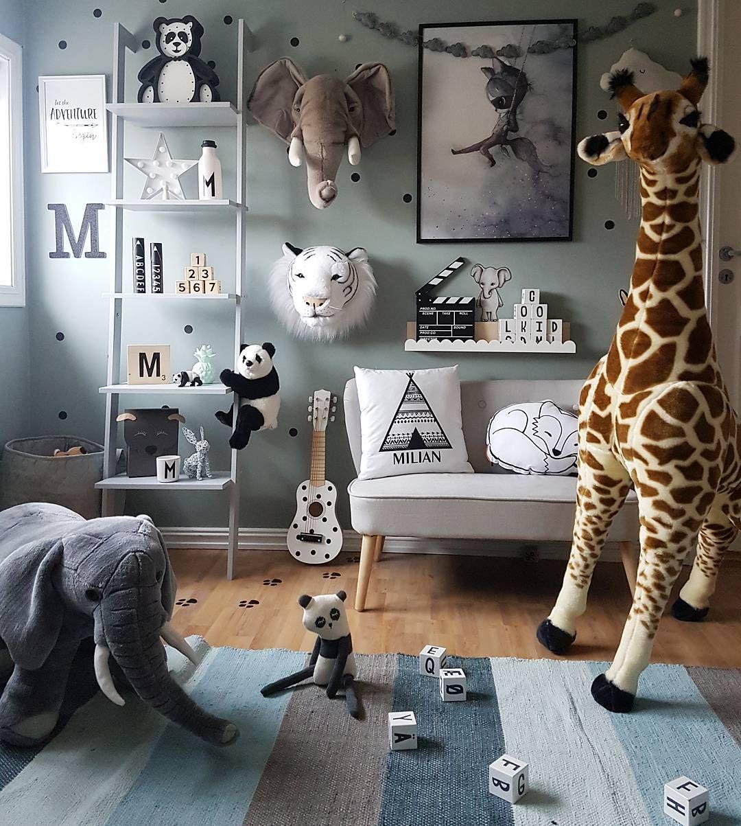 15 Ideas To Design A Jungle Themed Kids Room Kidsomania Themed Kids Room Kids Room Murals Kids Room Design